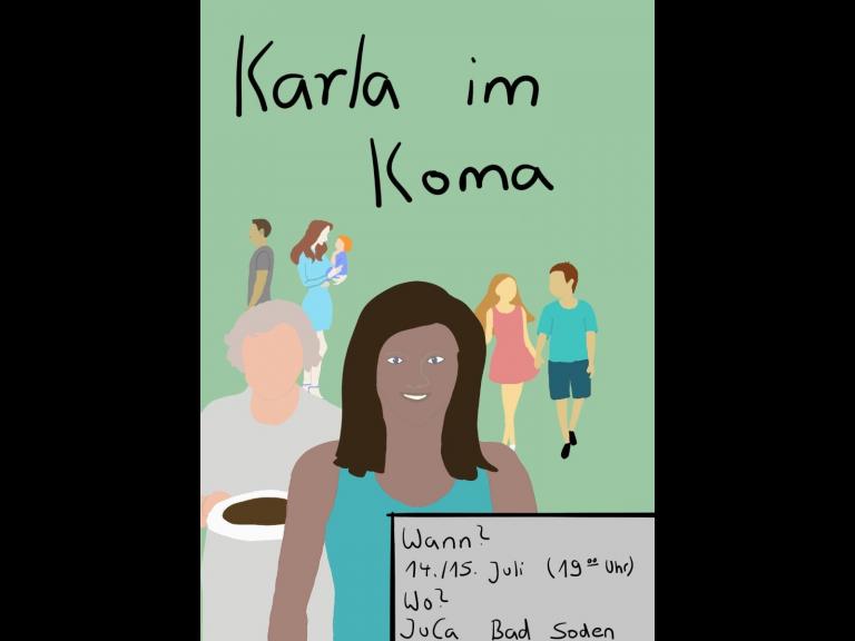 Karla im Koma Plakat